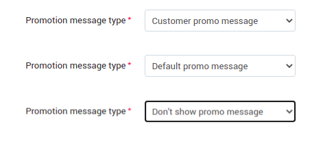 message types